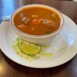 Albondiga soup cup