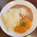 Chicken sour cream enchiladas