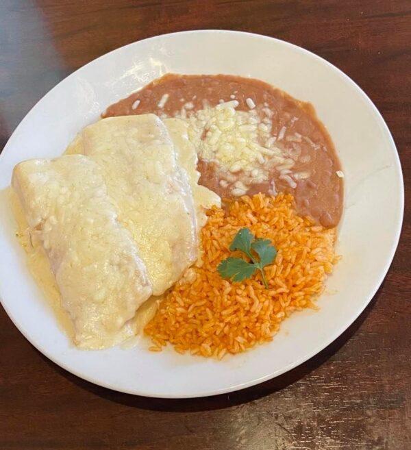 Chicken sour cream enchiladas2