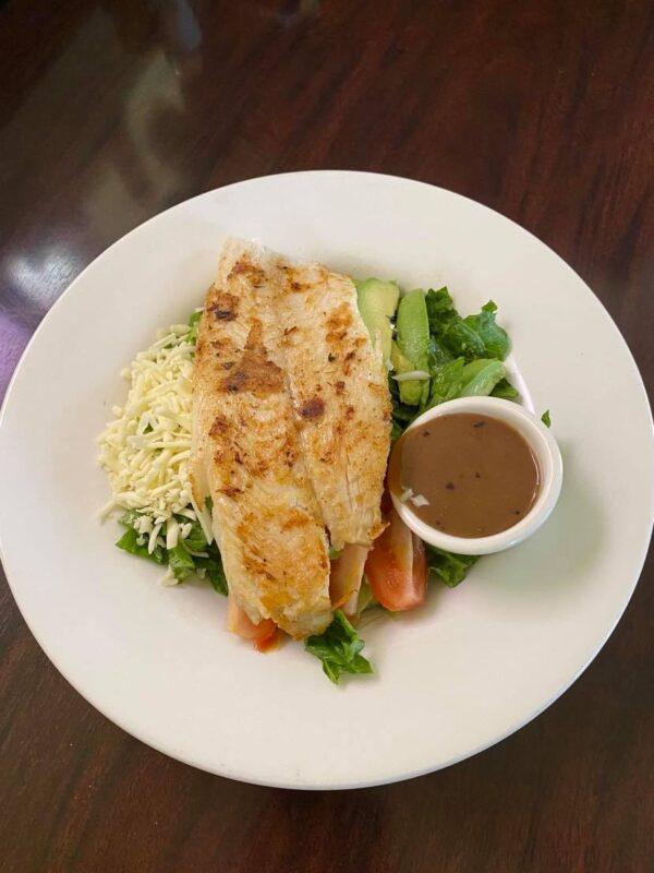 Grilled Fish Salad