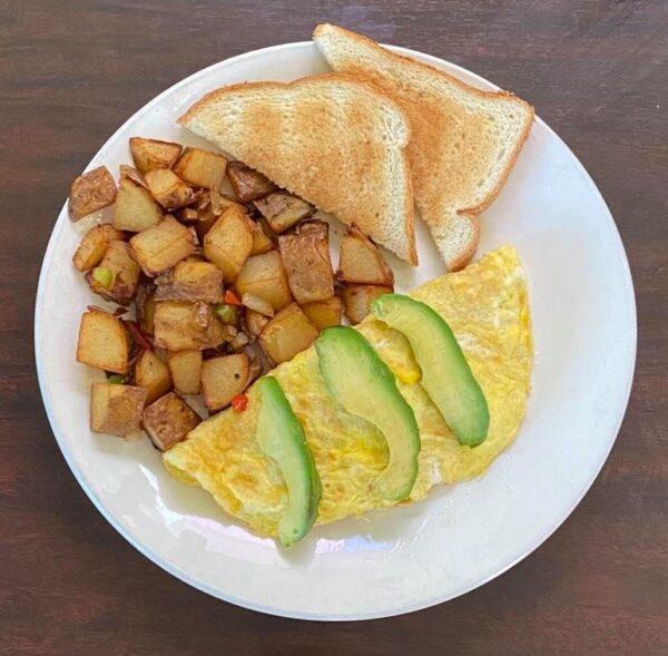 Omelette con palta2